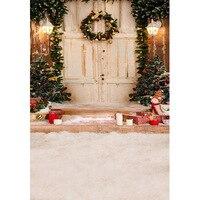 MEHOFOTO 5X7FT Thin Vinyl Children Photography Background Custom Christmas Photo Backdrops For Photo Studio S 2105