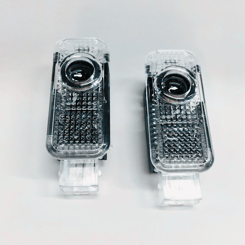 2x LED Car Door Logo Projector Light For A4 B8 B6 Avant B7 B5 B9 <font><b>A3</b></font> 8P <font><b>8V</b></font> 8L <font><b>Sedan</b></font> A1 A5 A6 C5 A7 A8 R8 Q3 Q5 Q7 TT Accessories image