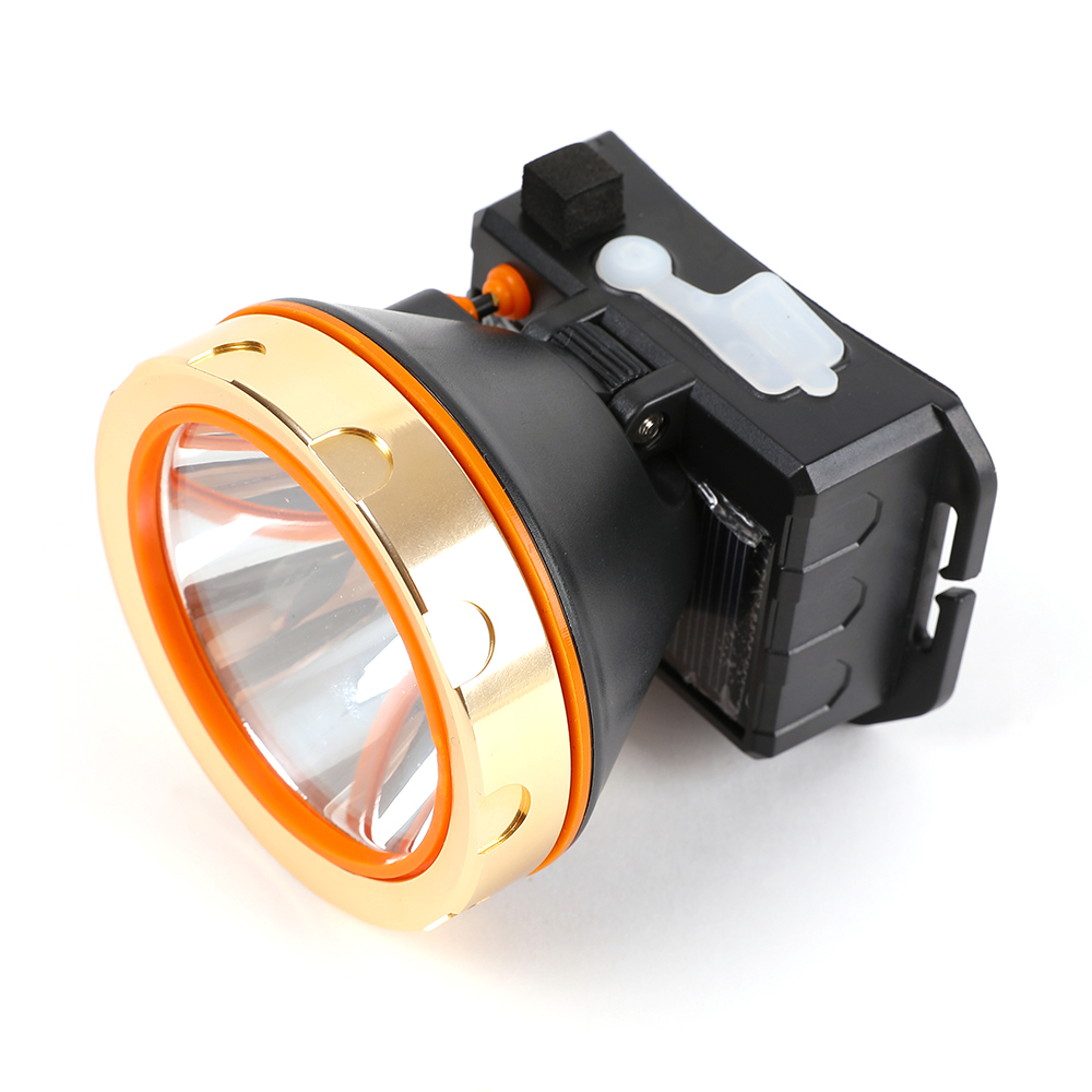 Image 2 - USB Solar Rechargeable LED Headlamp Flashlight Headlight with Emergency Power Bank Head Light 90 Degree Swivel Head for Camping-in Outdoor Tools from Sports & Entertainment