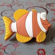 Kids Dresser Knobs Children Drawer Handles Fish  Nautical Furniture Knob Pull Handle Hardware acessories