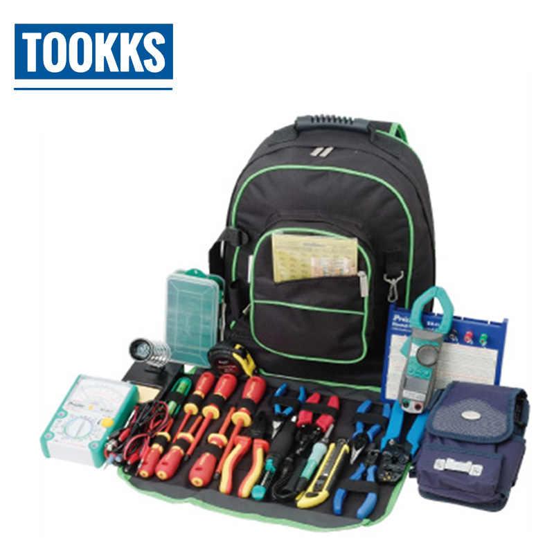 Pro'skit 9ST-307 электрик ящик для инструментов многофункциональная сумка для инструментов универсальная дорожная сумка большая сумка для хранения для ремонтных работ
