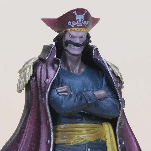 2 Pcs Set One Piece Gol D Roger Marco DX PVC Action Figure