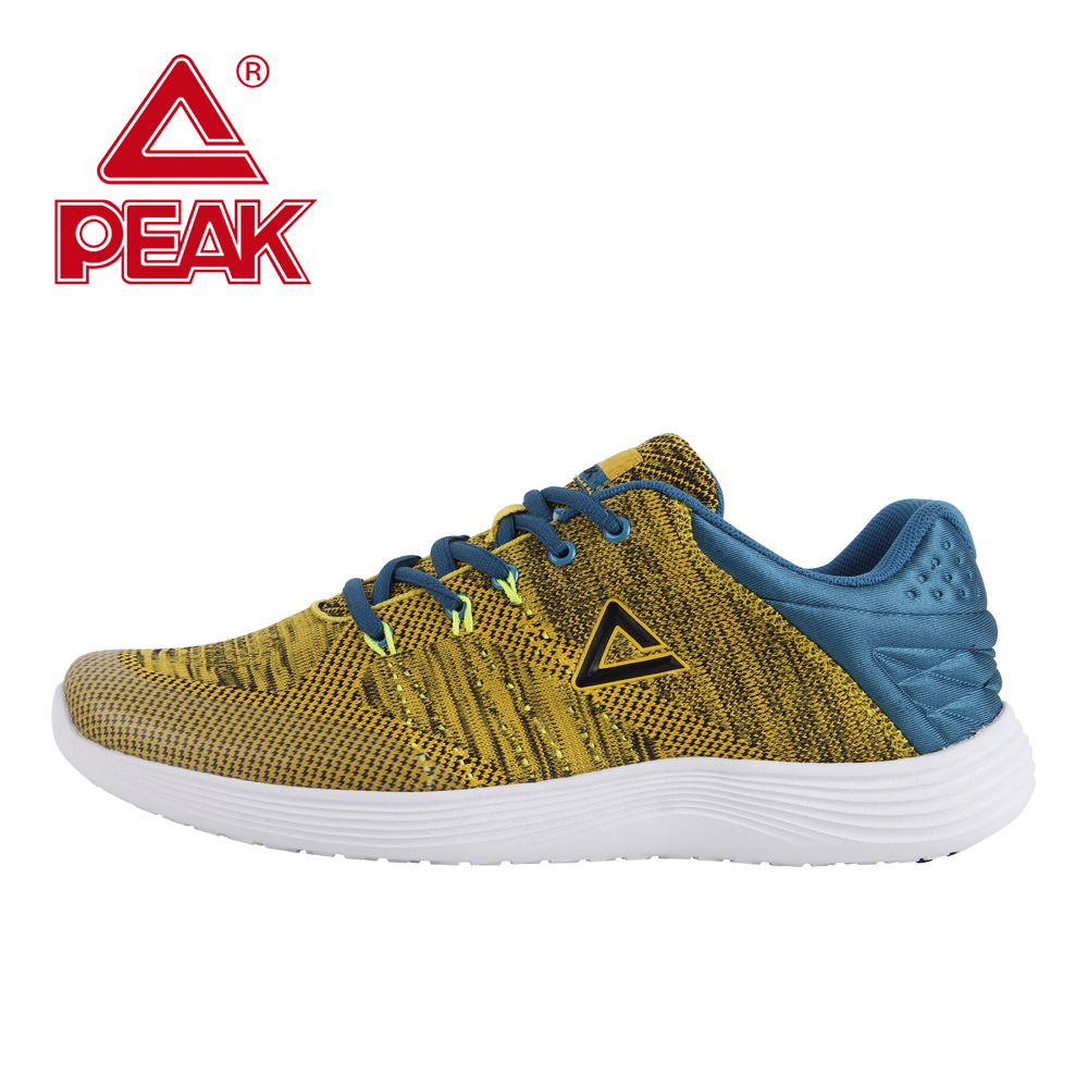 PEAK Running Shoes Men Shoes Athletic Sneakers Light Weight Support Sport Fitness Training Breathable Walking Sneakers Gym Shoes peak sport hurricane iii men basketball shoes breathable comfortable sneaker foothold cushion 3 tech athletic training boots