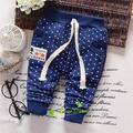 2017 Spring and autumn 0-2 old ,infant casual dot Labeling full pants, baby boys and girls trousers ,V1737