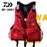 2018 NEW DAIWA life jacket Vest DF 3401 outdoors DAWA sport buoyancy 120 kg Multi Pocket Multi function man DAIWAS Free shipping