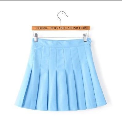 Kpop Schoolgirl Streetwear Skirts 5