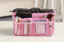 New Women Bag Gadgets Cosmetic Organizer Girls Large Travel Toiletry Polyester Wash Makeup Storage Case