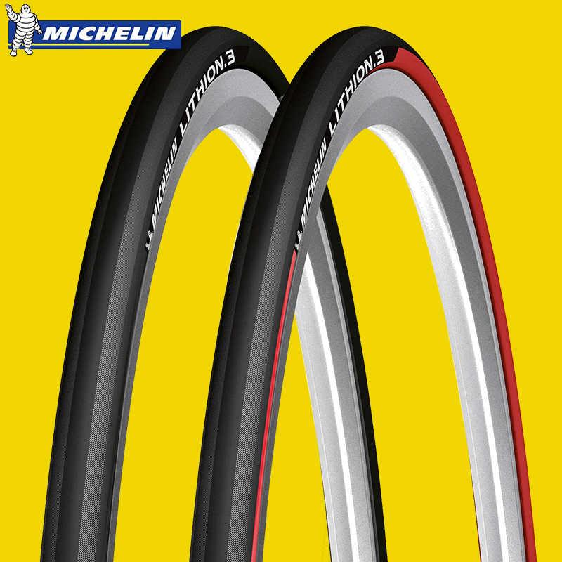 MICHELIN Tyres Lithion 3 Folding 28 inch 23-622mm 700x23c Road Bike Black 615599