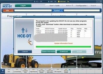 Диагностическое программное обеспечение Robex (HCE-DT) 2019 с неограниченным обновлением для Hyundai