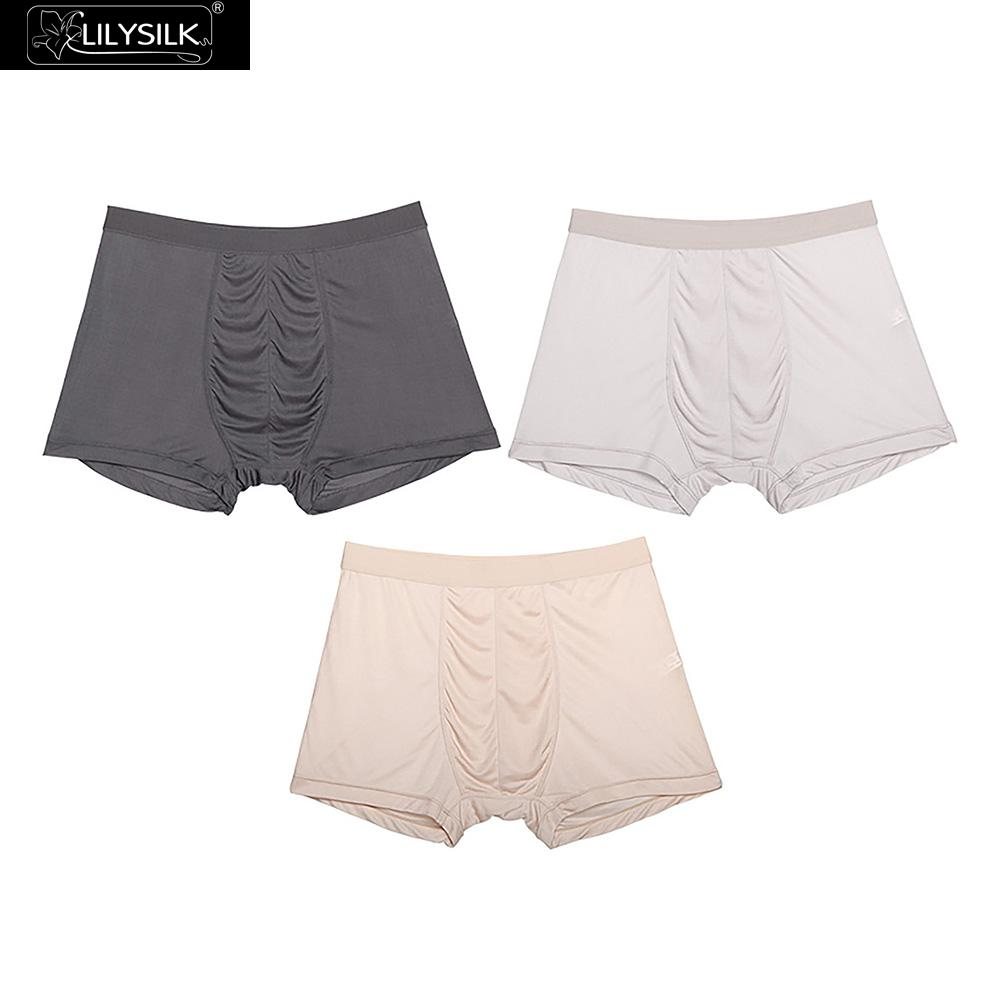 Lilysilk Men Briefs Breathable Silk Triangle Free Shipping