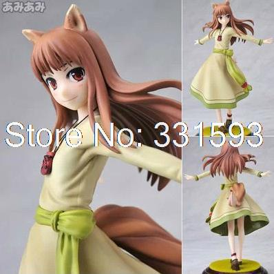 Anime Cartoon Kotobukiya Spice and Wolf Holo Renewal PVC Action Figures 1/8 Scale Boxed Collection Toys Models 8 20CM thorgal vol 8 wolf cub