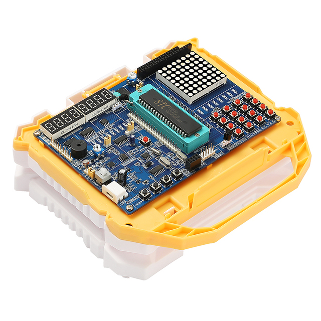51 MCU Development BOARD 51 Development BOARD การเรียนรู้การทดลอง BOARD STC89C52 ชุด V2.0 A6 A7 Dot Matrix