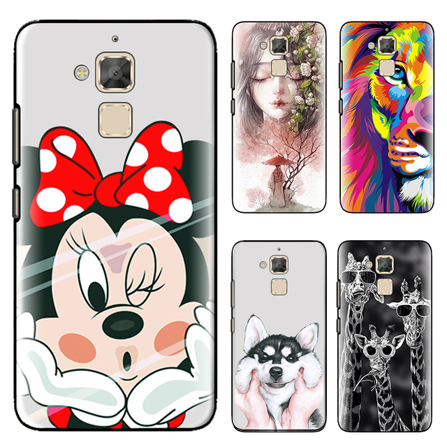 the best attitude 1b3f9 30604 US $0.99 20% OFF|Phone Case For Asus Zenfone 3 Max ZC520TL Cute Cartoon  High Quality Painted TPU Soft Phone Case Silicone Skin Back Cover-in Fitted  ...