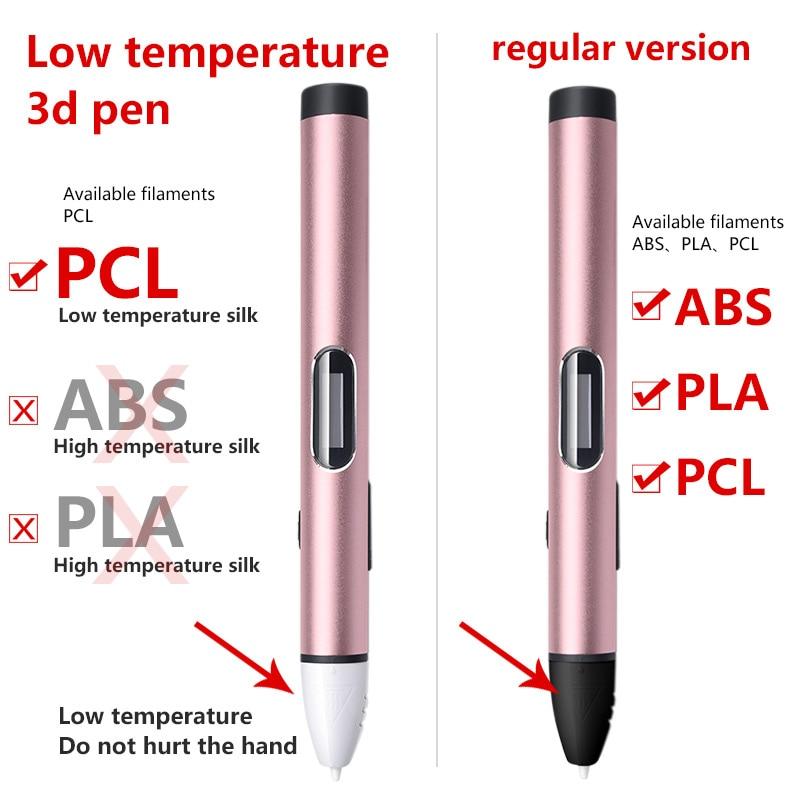 3d Pens 3d caneta 3d canetas de Printing Velocidade : 3 Velocidades/adjustable