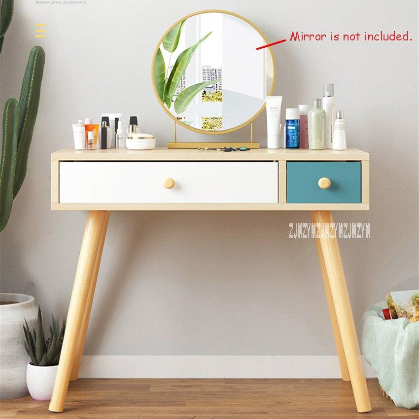 B2507 мебель для спальни современный комод ручной работы доска твердой древесины ноги туалетный столик креативный туалетный столик с ящиком - 2
