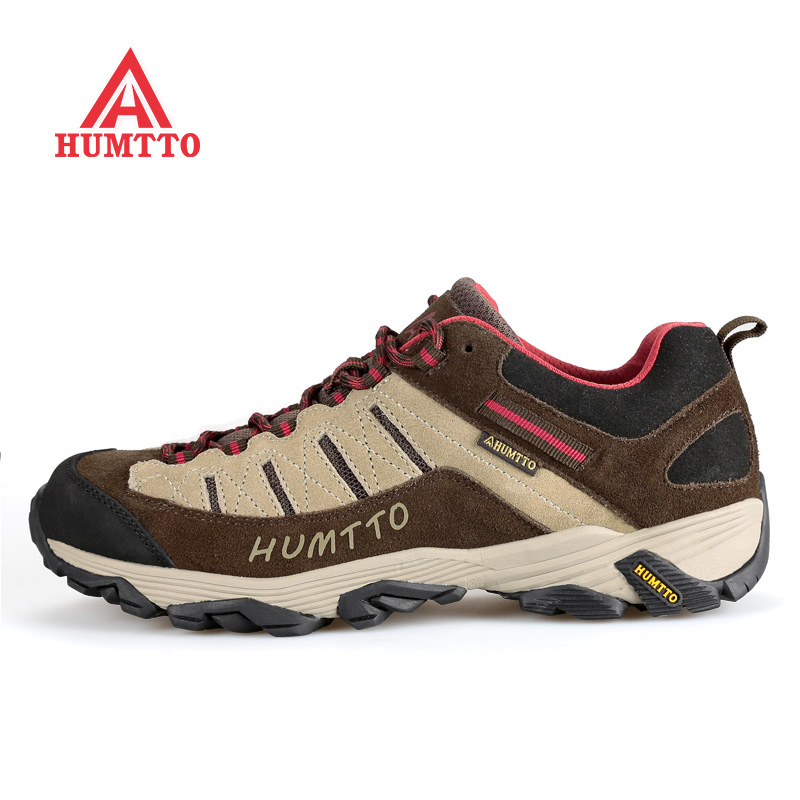 Famous Brand Men's Leather Outdoor Trekking Hiking Shoes Sneakers For Men Sports Climbing Mountain Shoes Man Outventure  39-44#