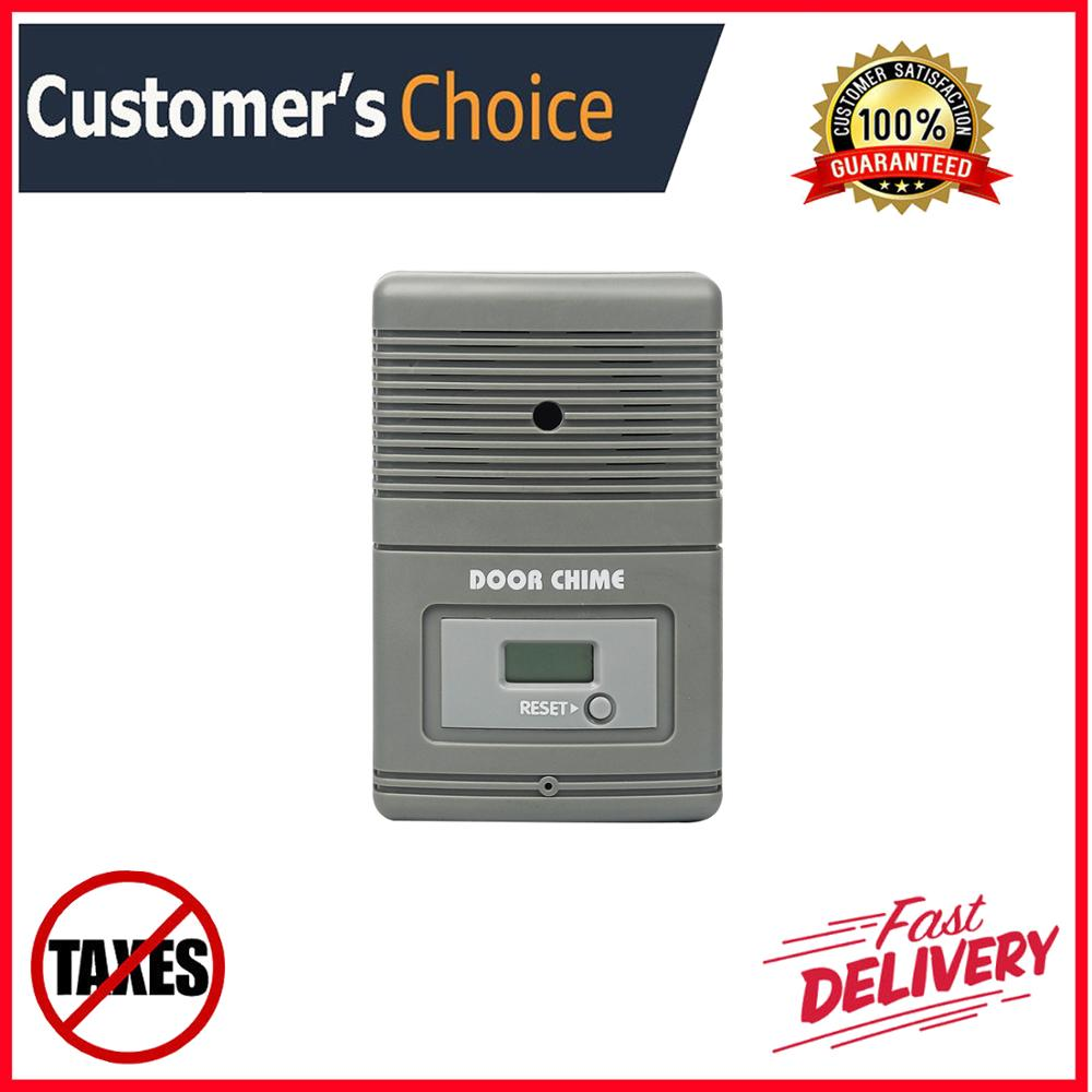 Wireless People Counter Visitor Counter With Music Door Chime Retail Security Football Counter Customer Counter