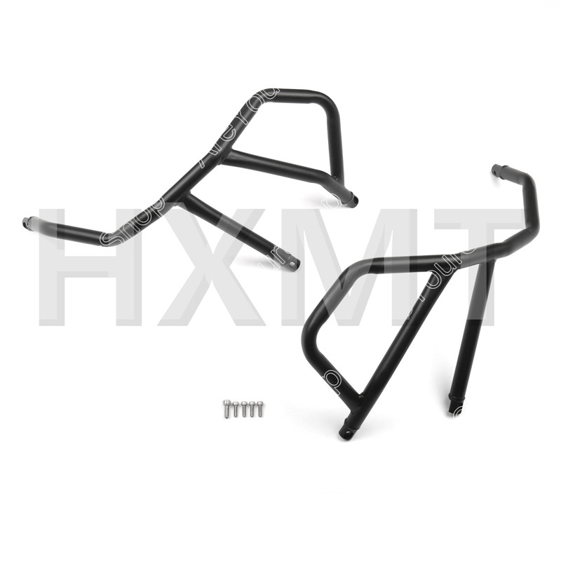 For KTM 1190 Adventure 1050 Black motorcycle Engine Bumper Upper Guard Crash Bar Protector Steel Frame Guard худи print bar adventure fiction