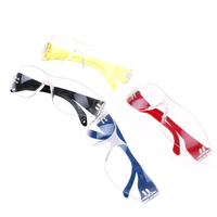 안전 고글 어린이 레드 방진 방진 보호 야외 활동 안경