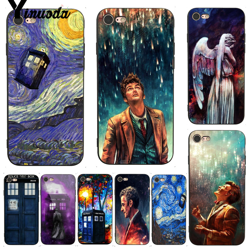 Half-wrapped Case Phone Bags & Cases Supply Yinuoda For Iphone 7 6 X Case Tardis Box Doctor Who Topmost Cool Phone Case For Iphone X 8 7 6 6s Plus X 5 5s Se Xs Xr Smoothing Circulation And Stopping Pains