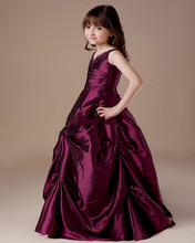 fc7fad5d277f Buy flower girl dresses burgundy and get free shipping on AliExpress.com