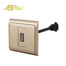 JSJ HDMI HD panel with a line projection television wall plug N86-901 + 631 Free Shipping