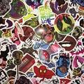 6 ШТ. Смешанные Смешно Хитовой Наклейки Игрушки Для Детей Домашнего Декора На Ноутбука Наклейка Наклейка Холодильник Скейтборд Каракули Наклейки Игрушки CTZ05