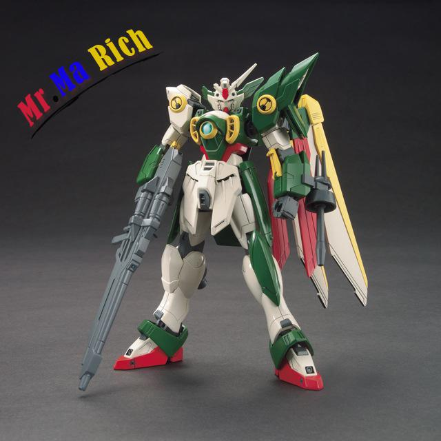 Anime Figure Hg 1:144 Gundam Wing Gundam Assembled Toy Pvc Action Figures Toy Model Collectibles Robot