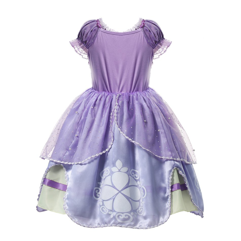 Girls Summer Princess Cosplay Costume (3)