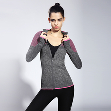 2017 Sale Outdoor Running Shirt Women Breathable Fitness Jogging Yoga Shirts Gym Clothes Zip Jerseys Quick Dry Sports Coat Yg09