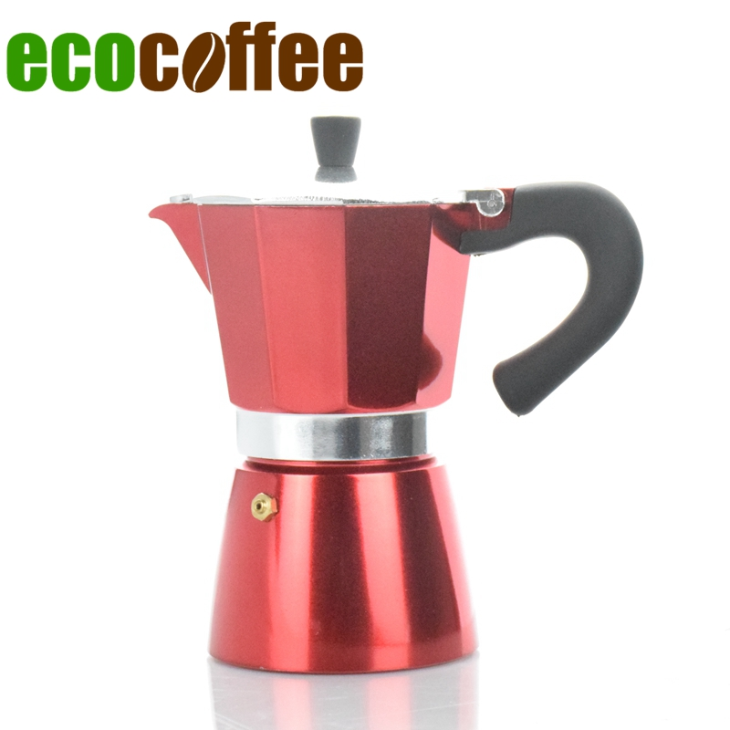 6Cups Counted Classic Espresso Aluminum Moka Pot Mocha Color Coated Household Coffee Maker 6Cups Counted Classic Espresso Aluminum Moka Pot Mocha Color Coated Household Coffee Maker