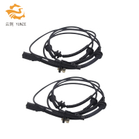 2PCS 4545G7 4545C0 9642688280 HIGH QUALITY ABS WHEEL SPEED SENSOR REAR LEFT RIGHT FOR PEUGEOT 407