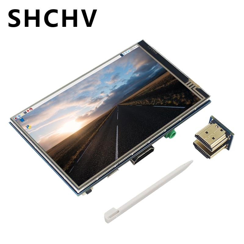 4 Inch Raspberry Pi 3 HDMI LCD Display Touchscreen 800*480 SPI Touch Screen For Raspberry Pi 3 Model B+ 3B B Plus 2B Zero W