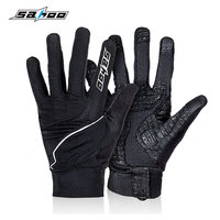 New MTB Cycling Gloves Full Finger Screen Touch Palm Gel Breathable Bike Road Bicycle Unisex Wind