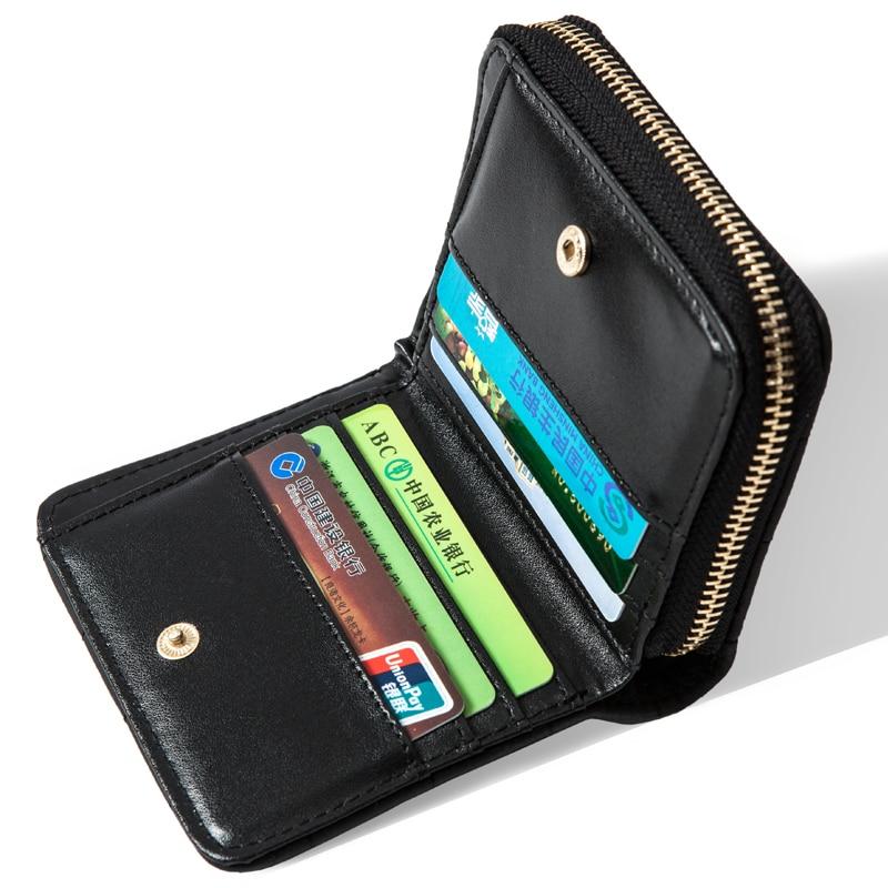 Fashion Women Wallet Plaid Designer Coin Bag Standard Wallets Female Card Holder Small Purse Zipper Hasp Leather Wallet Carteira