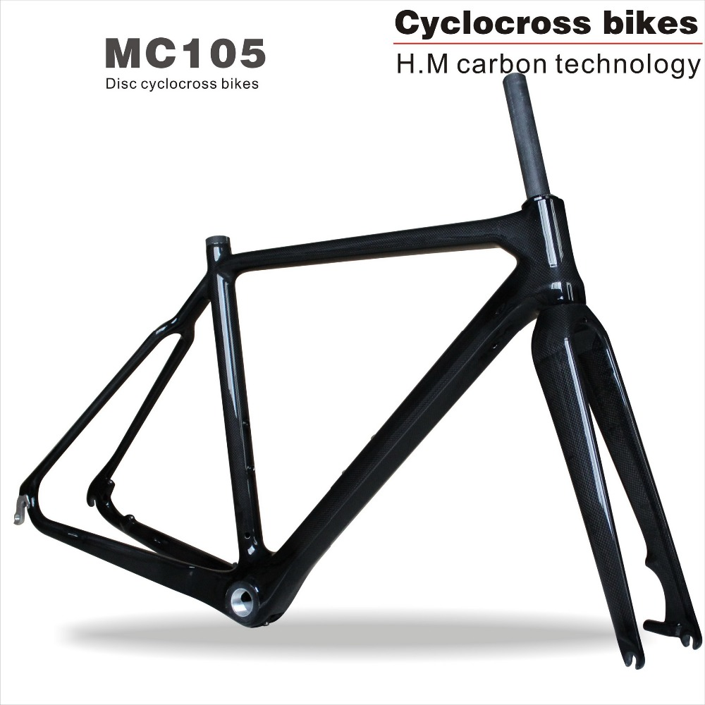 2017 Tapered tube Carbon Cyclocross Frame disc Di2,Chinese Carbon frames 31.6mm CX Carbon Cyclocross Frame MC105 hot sale chinese cyclocross frame carbon cx frame di2 disc brake carbon cyclocross bike frame cx535