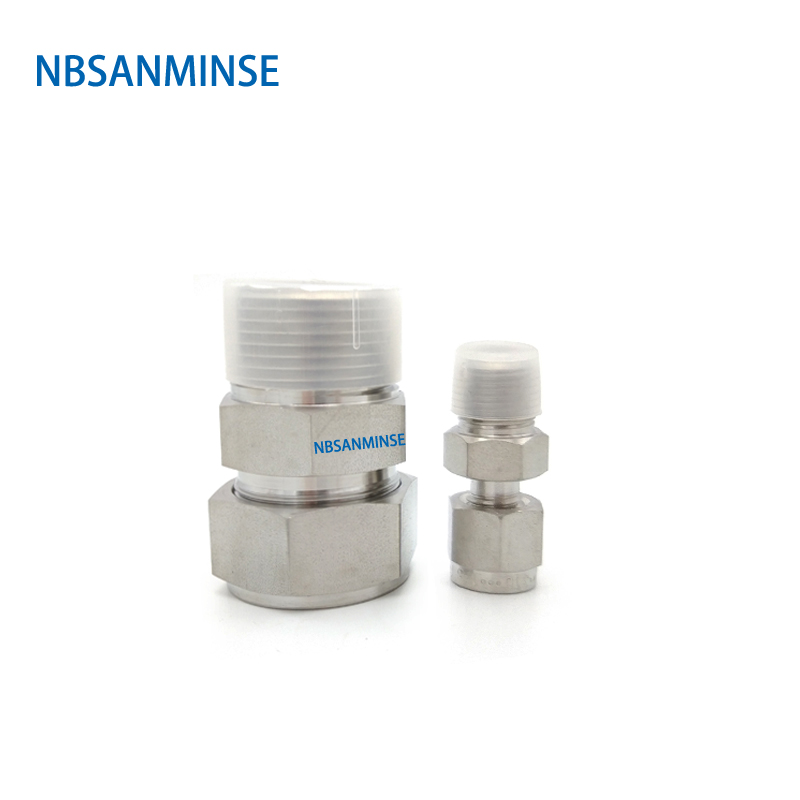5 Pcs / Lot MC G Thread Male Connector Stainless Steel SS316L Plumbing Fitting Pneumatic Air High Quality Sanmin