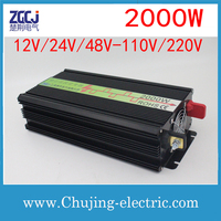 High quality 2000W dual outputs intverter Voltage converter 2000Watts power inverter DC AC inverter in stocks
