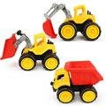 3 Estilo Toy Tractor Vehículo de Deslizamiento Dinky Coches Camiones Modelo Funde Automóviles de Juguete Brinquedos Regalo de Cumpleaños Juguetes de Niños Del Bebé Del Coche