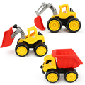 3 Style Tractor Toy Sliding Vehicle Cars Truck Dinky Model Toys Baby Children Car Diecasts Toy Vehicles Birthday Brinquedos Gift