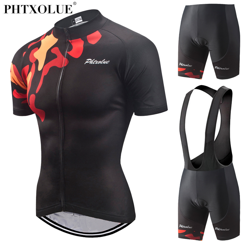 Phtxolue 2018 Summer Women MTB Bike Cycling Clothing Breathable Mountian Bicycle Clothes Ropa Ciclismo Cycling Jersey Sets