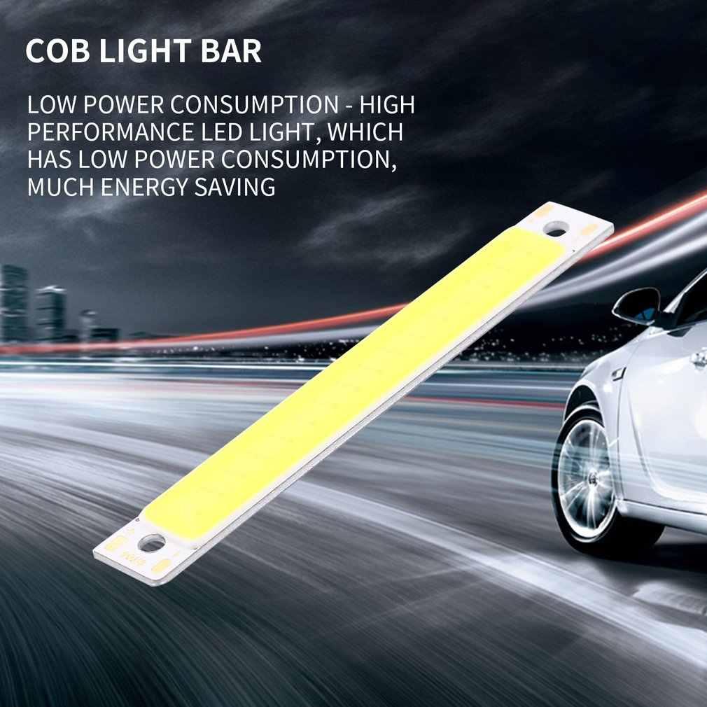 60x8mm 1 W 3 W Destaque COB LEVOU Barra de Luz Super Cool White Warm White Azul Vermelho tiras de luzes Lâmpadas Carro DIY Trabalho Transporte da gota