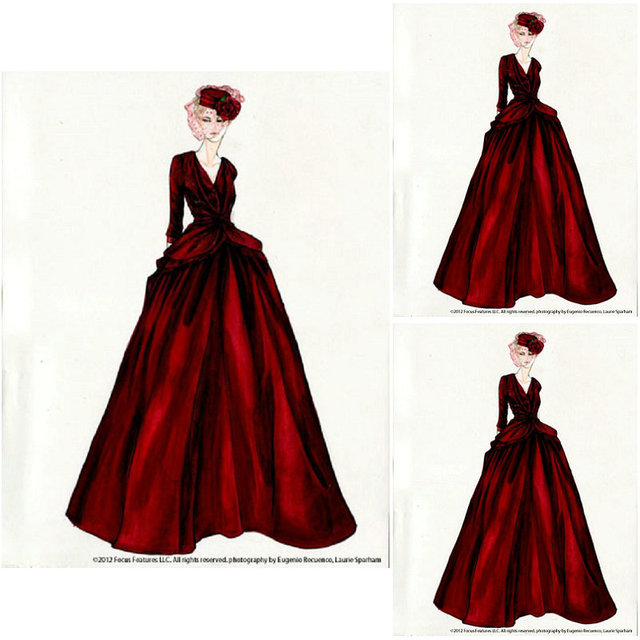 Historical!19 Century Red Vintage Costumes 1860S Victorian Civil War  Southern Belle Gown Dress Scarlett cf1097fc4e64