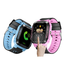 1.44″ HD Touch Screen Color Display Kids Smart Watch For IOS Android System Smart Watch with Flashlight AGPS & LBS Positioning