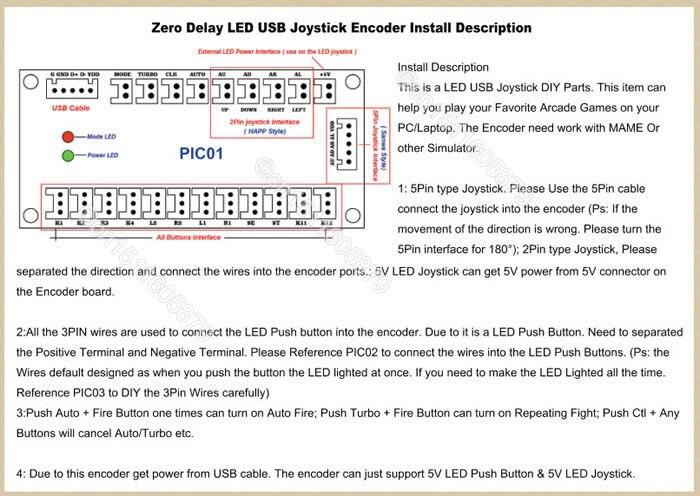 Arcade diy kits pc usb encoders cables 5 pin joysticks led arcade htb124xjlxxxxxc4xfxx760xfxxxs swarovskicordoba Gallery