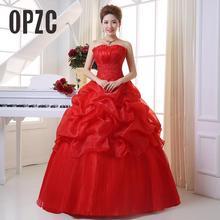Новое поступление, корейский стиль, красное модное платье принцессы с кристаллами для девочек, свадебное платье, сексуальное кружевное платье, стильные торжественные свадебные платья, 201