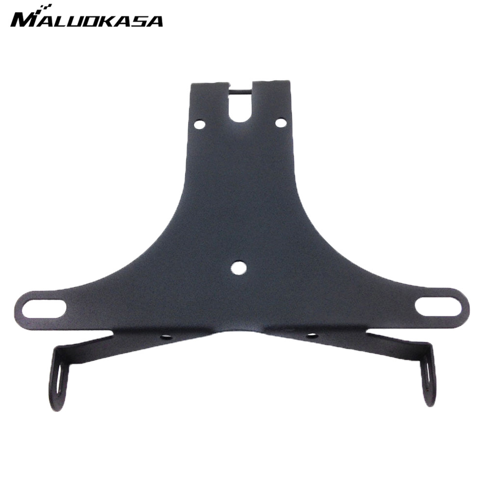 MALUOKASA Fender Eliminator For Yamaha YZF-R1 2004 2005 2006 2007 2008-2014 Motorcycle License Plate Bracket Tail Light Holder for suzuki gsxr1000 2007 2008 motorcycle licence plate bracket tail tidy rear fender eliminator billet aluminum