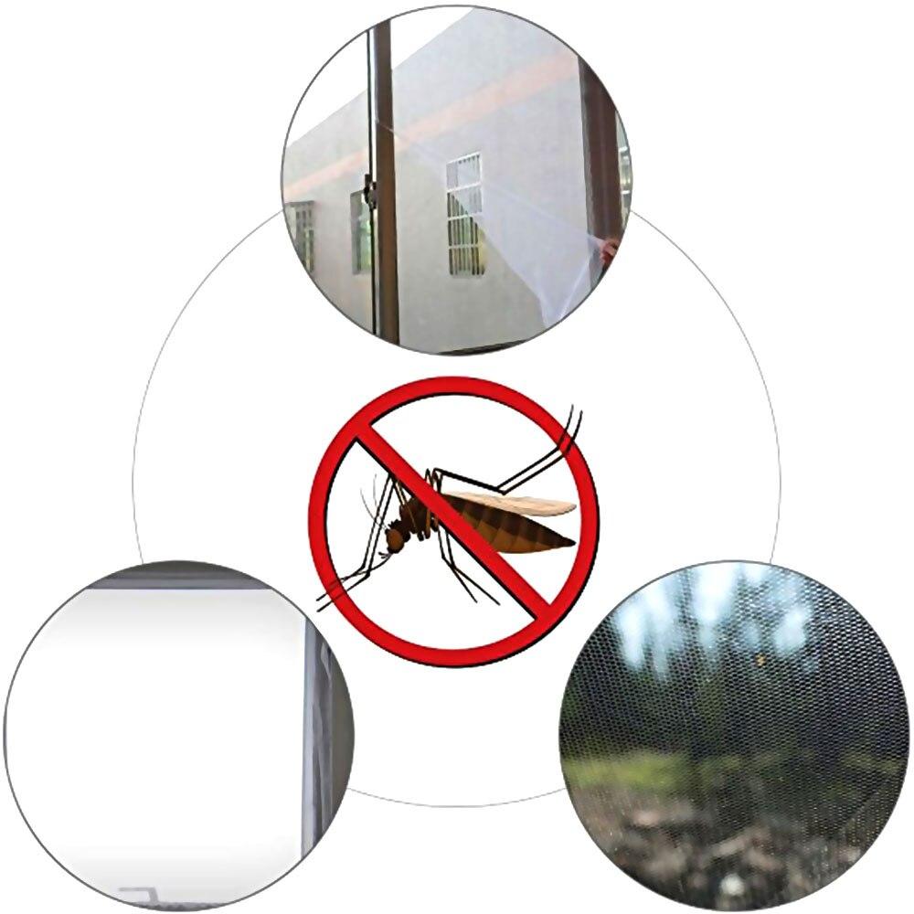1,3 Mt * 1,5 Mt Selbst-adhesive Anti-moskito Net Fliegengitter Vorhang Insekt Fly Moskito Bug Mesh Fenster Bildschirm Hause Liefert üPpiges Design