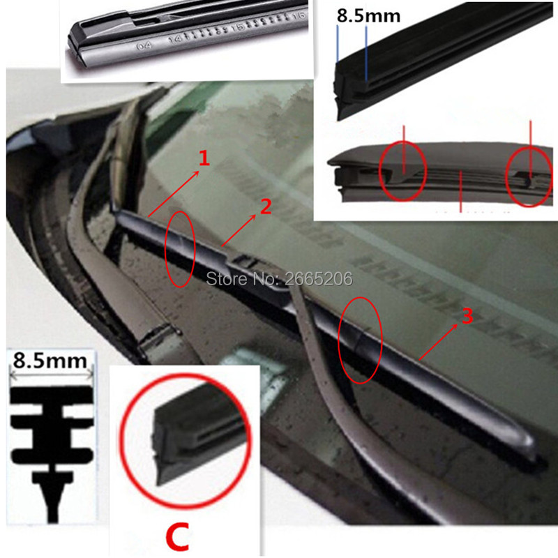 1 x Blade CX-3 SUV May 2015 Onwards Rear Wiper Blade