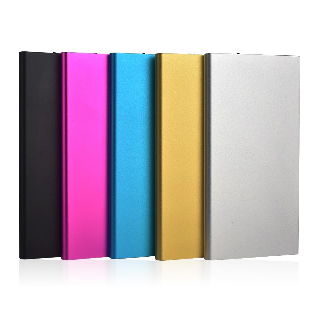 imágenes para De alta Calidad Ultra Delgada de Metal Banco de la Energía 10000 mAh Móvil Externo Banco Portable de la batería para el iphone 6 S Plus 6 S y otros